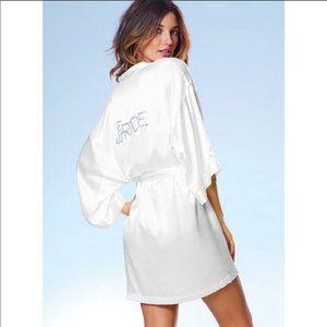 NWT Victoria's Secret 'I Do' Satin Bride Robe
